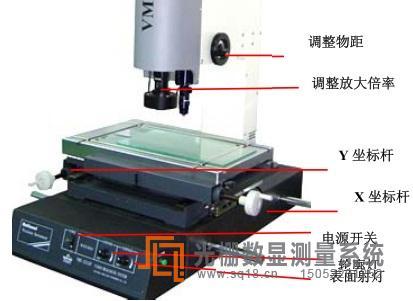 手动影像仪的使用方法